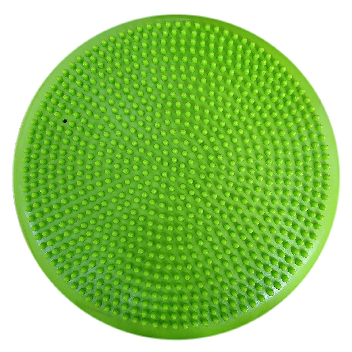 AppleRound Air Stability Wobble Cushion with Pump, 34cm 13.5in Diameter, Balance Disc, Sensory Wiggle Seat