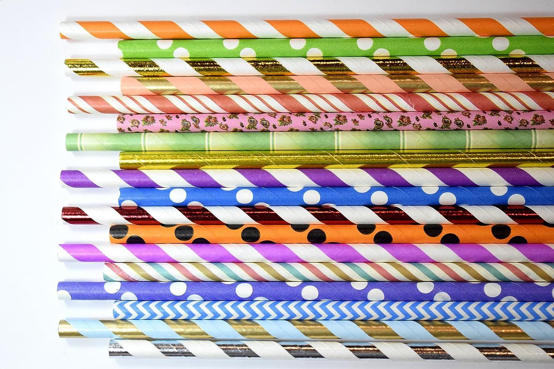 Random Paper Straws