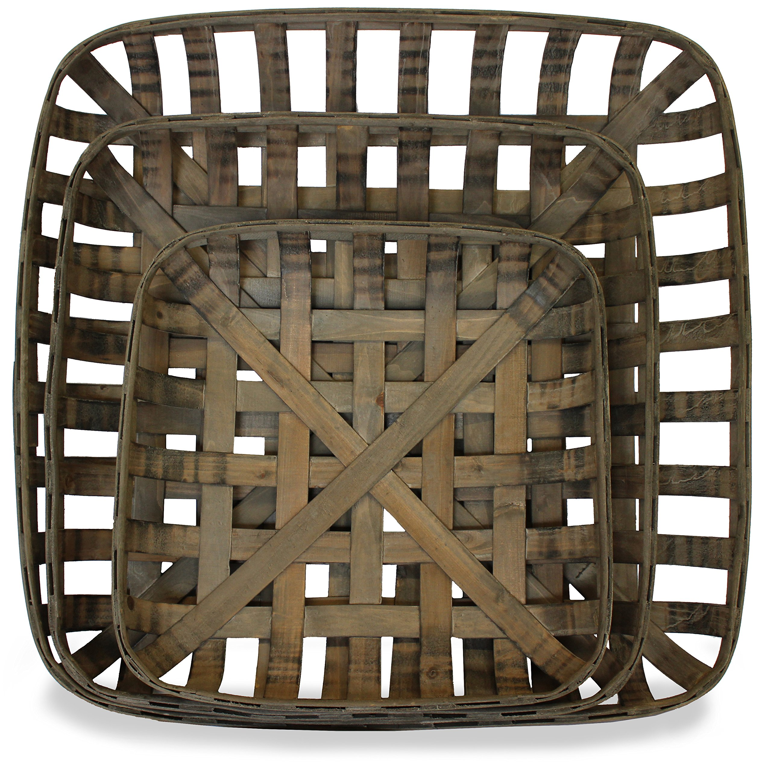 Tobacco Baskets, Set of 3, (Medium, Large, XLarge) | by Urban Legacy by Urban Legacy (Image #1)