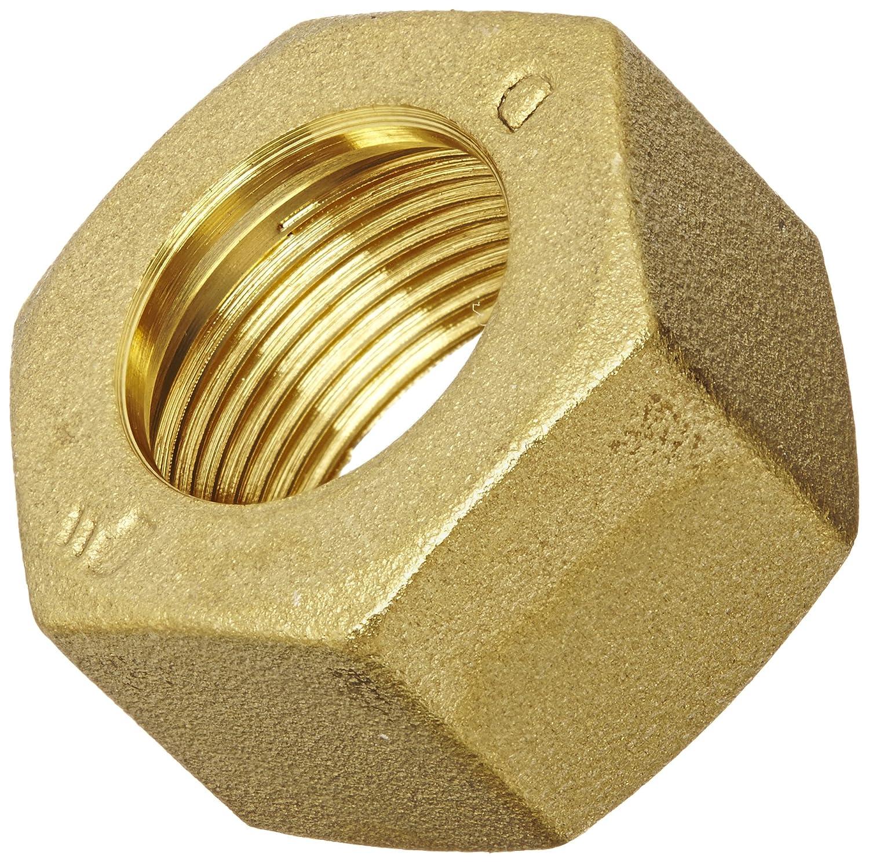 For 18 mm Tube OD x M24x1.5 Thread 30 mm Hex Siz 18 mm Length Parker Legris Nut Legris 0110 18 00 Brass Compression Tube Fitting