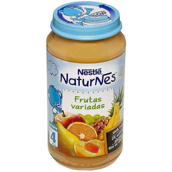 Nestlé Naturnes - Frutas Variadas - A partir de 4 meses - 250 g - , Pack de 6: Amazon.es: Alimentación y bebidas