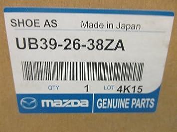 B2200 /& B2600 1986-1993 New OEM rear drum brake pads UB392638ZA Mazda B2000