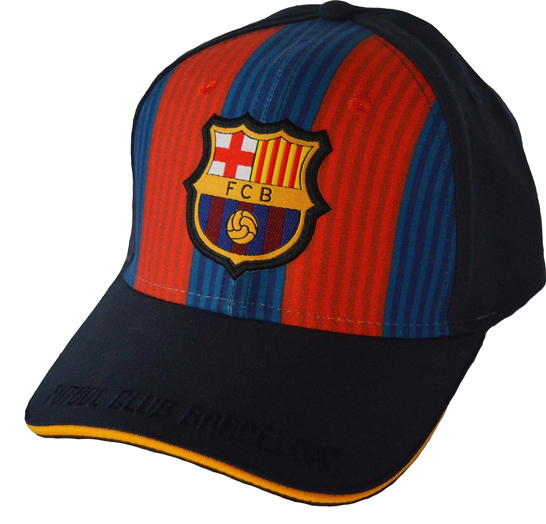 Fc Barcelone Gorra niño Talla Regulable niño: Amazon.es: Deportes ...