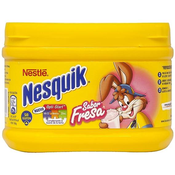 Nestlé - Nesquik Fresa Batido Instantáneo Bote, 300 g