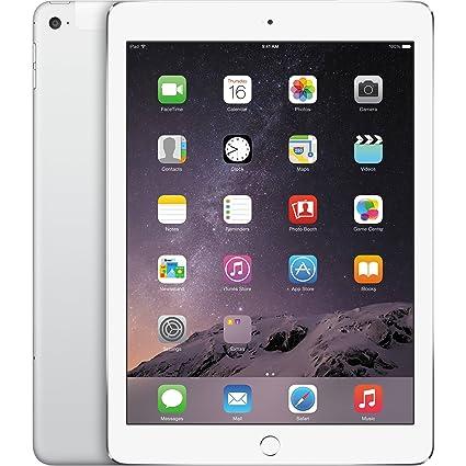 1d3536e8f9d Amazon.com : Apple iPad Air 2, 16GB, 4G + Wi-Fi - Silver (Renewed) :  Computers & Accessories