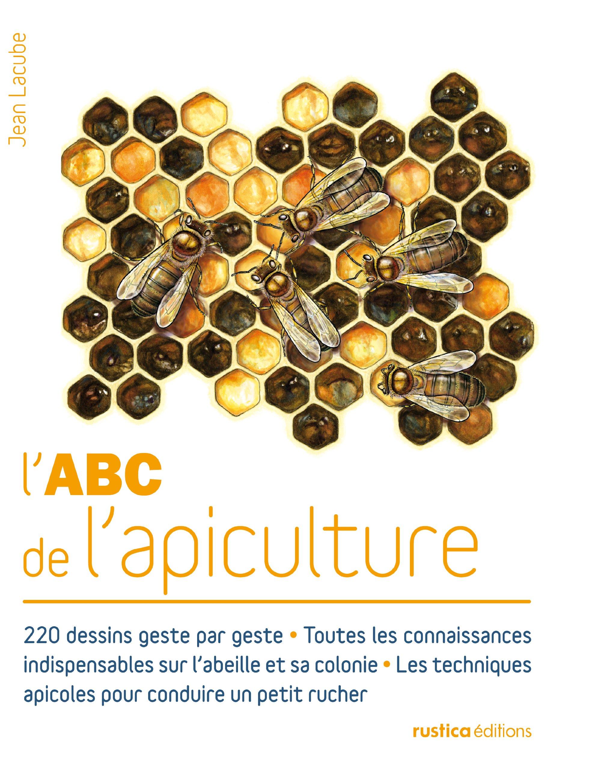 L'ABC de l'apiculture Broché – 24 mai 2013 Jean Lacube Michel Sinier L' ABC de l' apiculture Rustica éditions