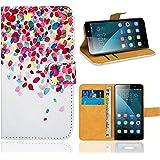 Huawei Honor 4X Housse Coque, FoneExpert Etui Housse Coque en Cuir Portefeuille Wallet Case Cover pour Huawei Honor 4X