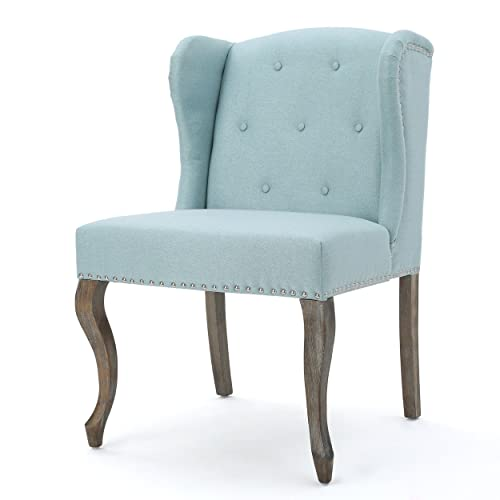 Christopher Knight Home Kylie Light Blue Fabric Chair, Twin