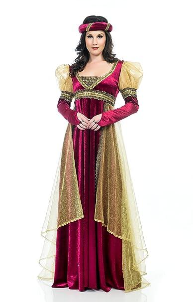 0fb8e4d4865 Charades Women s Renaissance Lady Costume Dress  Amazon.ca  Clothing    Accessories