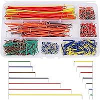 Cable de Puente Breadboard Jumper Wire Kit Dupont Cables Arduino Raspberry Pi Macho a Macho 14 Longitudes con Caja de…
