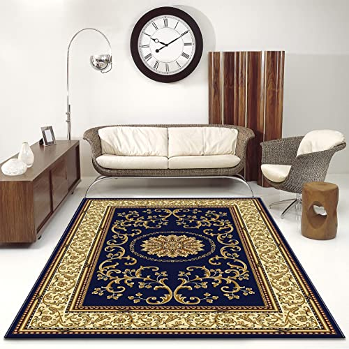 Radici 1419/1340/NAVY Noble Area Rug