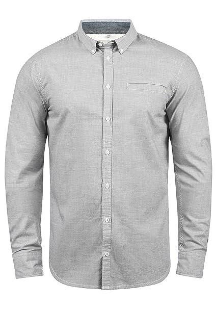 new styles 6b3ac fc93a Blend Fill Herren Freizeithemd Hemd Mit Button-Down-Kragen Aus 100%  Baumwolle