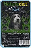 Naturediet Fish with Brown Rice and Potato Dog Food Tray, 18 x 390 g