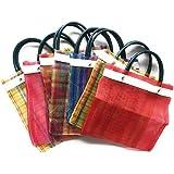 Amazon.com: Grahmart Mini Mexican Tote Favor Bags (Mexican ...