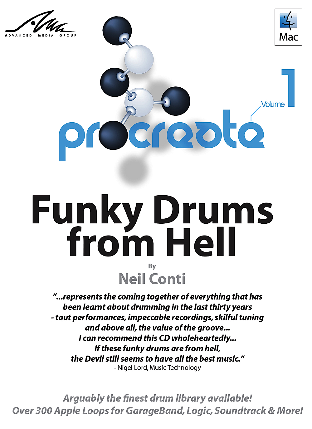 Funky Drums from Hell - Neil Conti - Superb Funky Drum Apple Loops