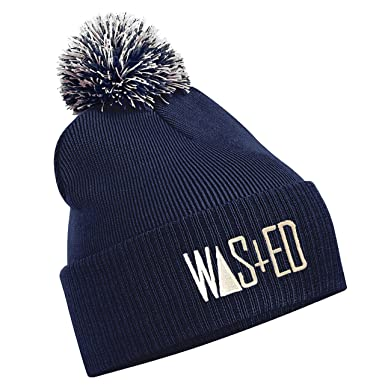 TTC Wasted Youth Bad Hair Day Comme Des Disobey Fatal Homies Wasted Blame  Bobble Hat Black d73a04e262c