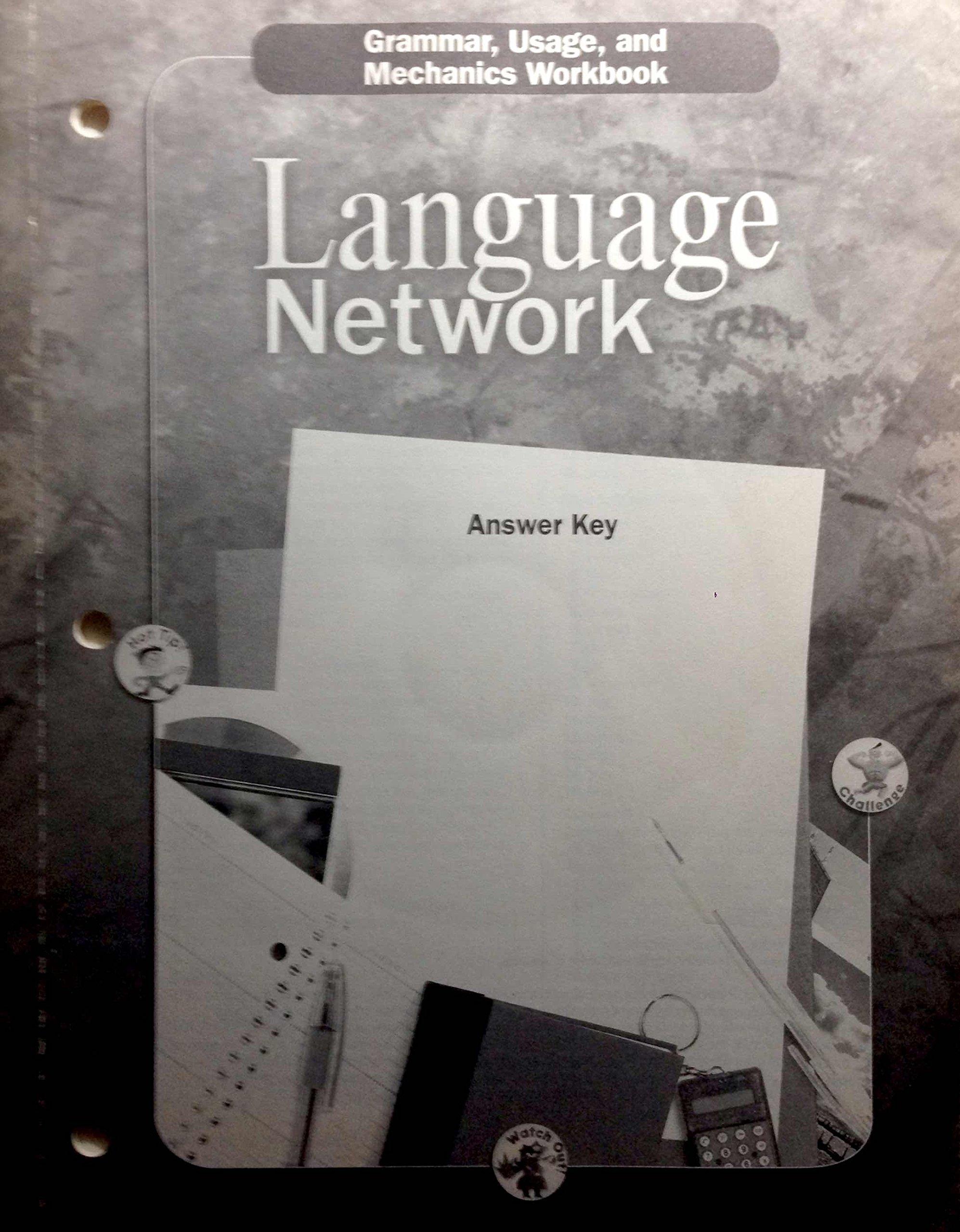 Download McDougal Littell Language Network Grade 12 Grammar, Usage and Mechanics Workbook Answer Key PDF