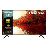 Deals on Hisense 43-Inch 43H5500G Full HD Smart Android TV