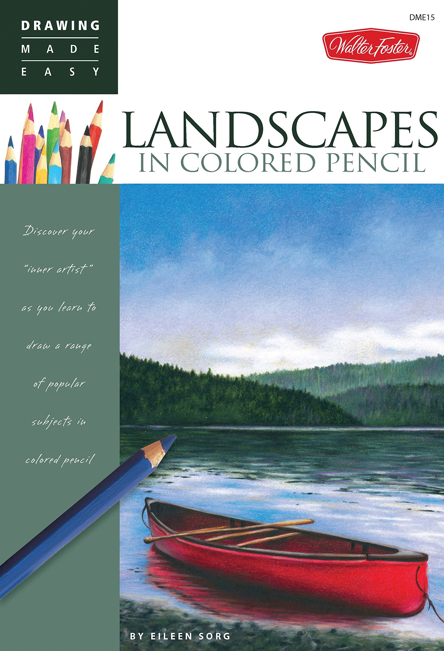 Landscapes in Colored Pencil (Drawing Made Easy): Amazon co