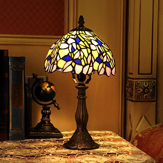 Amazon.com: Gweat Tiffany 8-Inch hecho a mano vidrio de ...