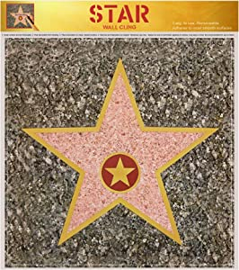 Hollywood Party Decorations | Hollywood Stars Walk of Fame Kits | Pack of 12