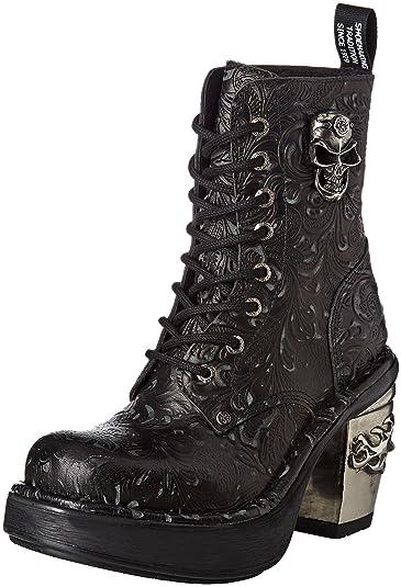 New Rock M-TR082-S1, Bottes Motardes Femme, (Black), 41 EU
