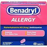 Benadryl Allergy Ultratabs Tablets, 48 Count