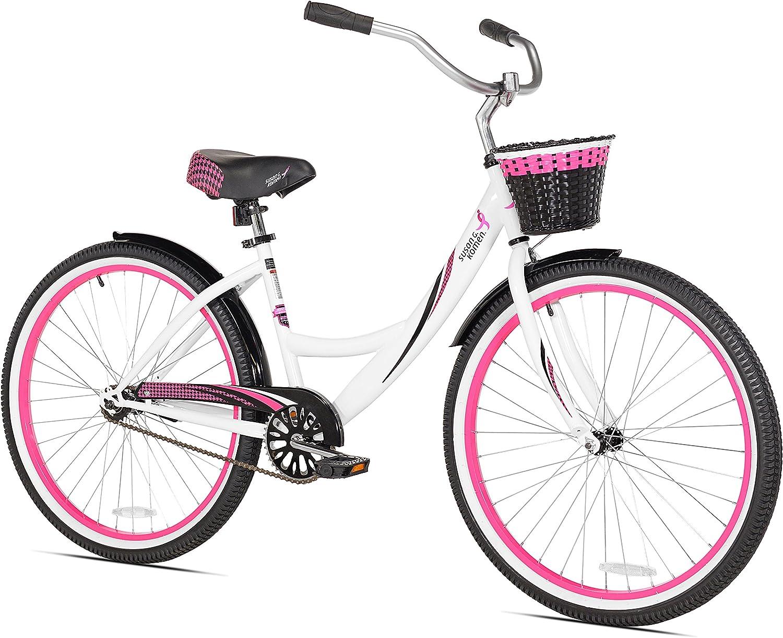 "Kent Cruiser Bike 26"" Women's Pink Beach and City Comfort Bicycle Shimano New!"