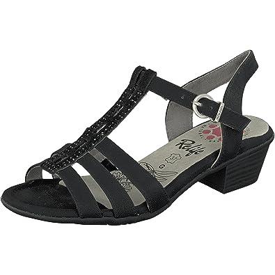 Aus Deutschland Niedrig Versandkosten Billig Verkauf Suchen Relife Sandale Damen schwarz Billig Verkauf Countdown-Paket i68E9s