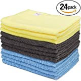 Ttowels Microfiber Cleaning Cloth - 24 Pack