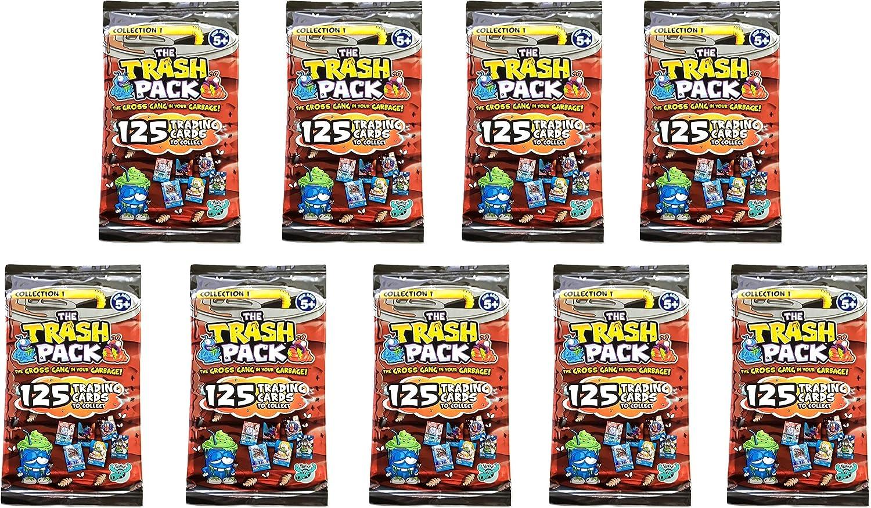 The Trash Pack (Serie 3, Colección 1) 9 Paquetes de Cartas de ...