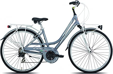 28 pulgadas Legnano Smeralda bicicleta de trekking mujer aluminio ...