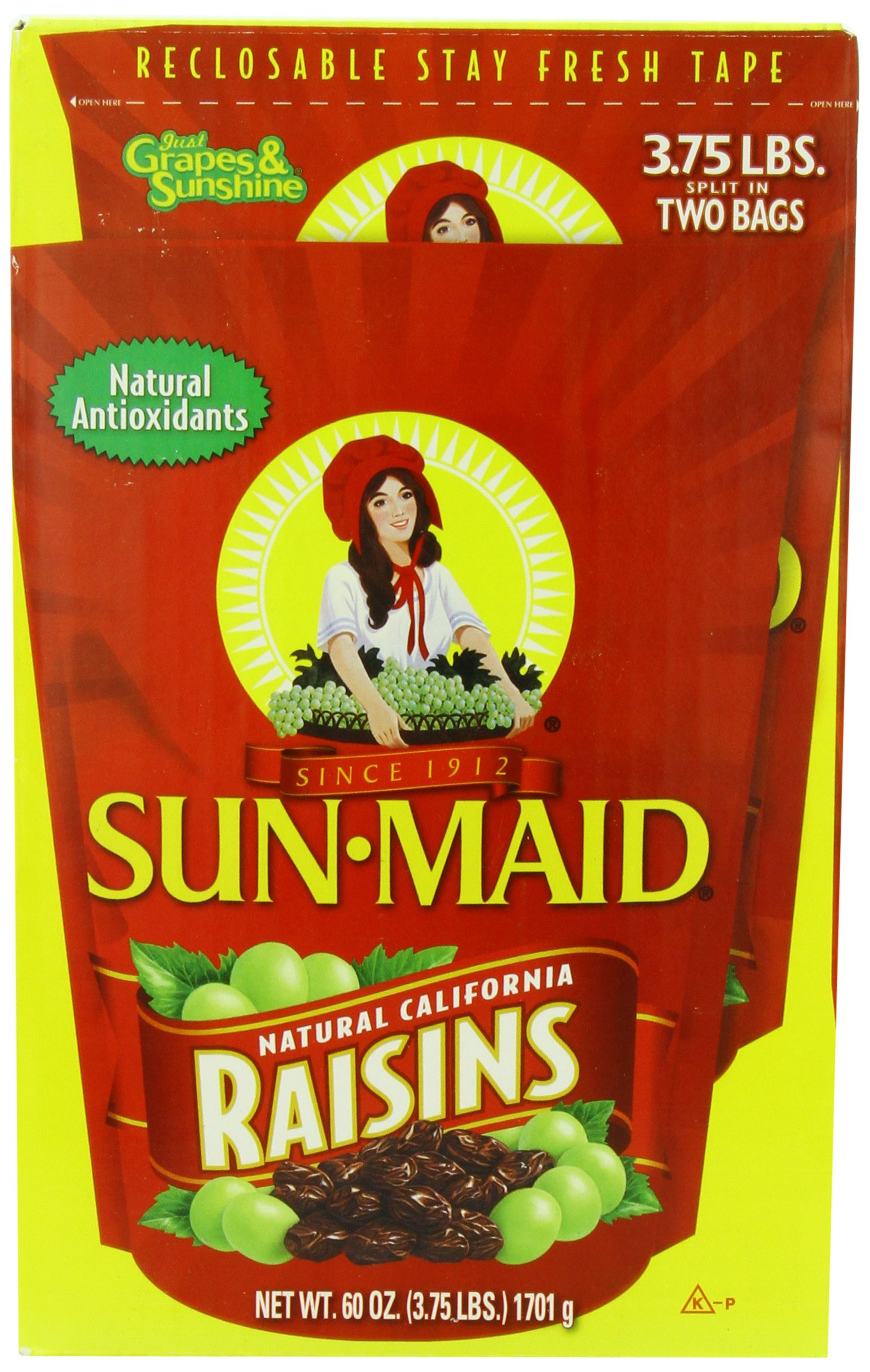 Sun Maid Raisins, 60 Ounce