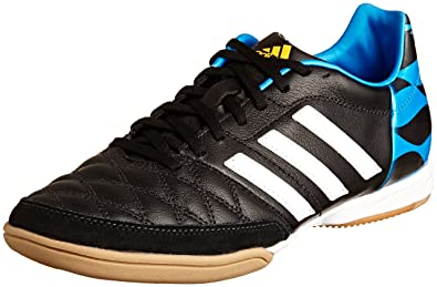 new styles 8cafe 79211 adidas Performance M17718, Herren Fußballschuhe, schwarz (Core BlackWhite   Solar Blue
