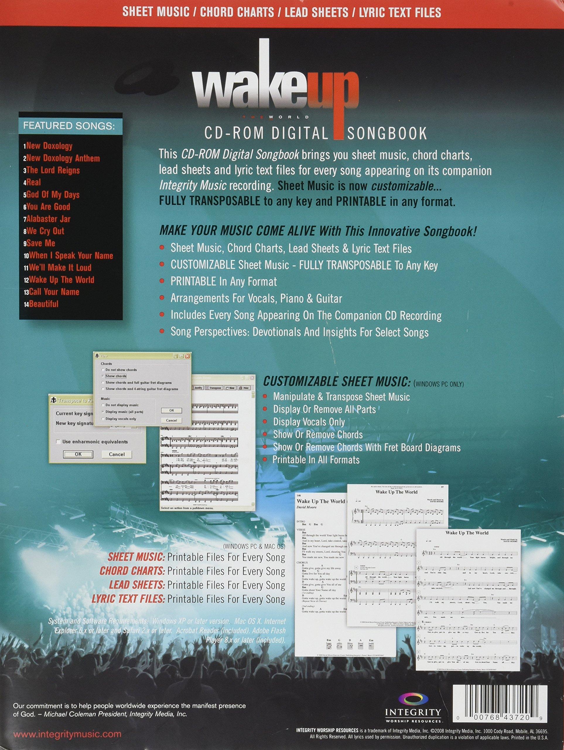Gateway Worship Wakeup The World Cd Rom Digital Songbook Various
