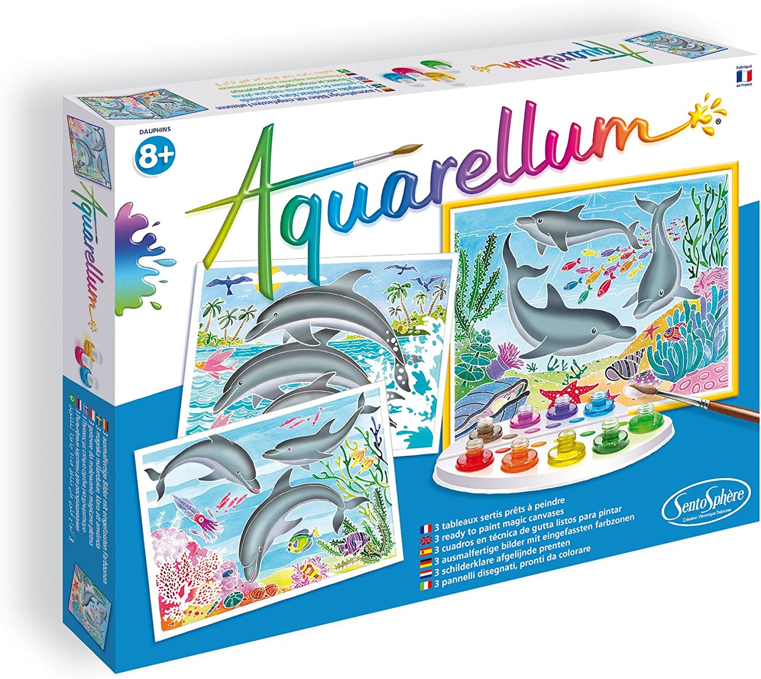 Aquarellum Painting By Numbers Painting Activities for Kids Mythical Animals