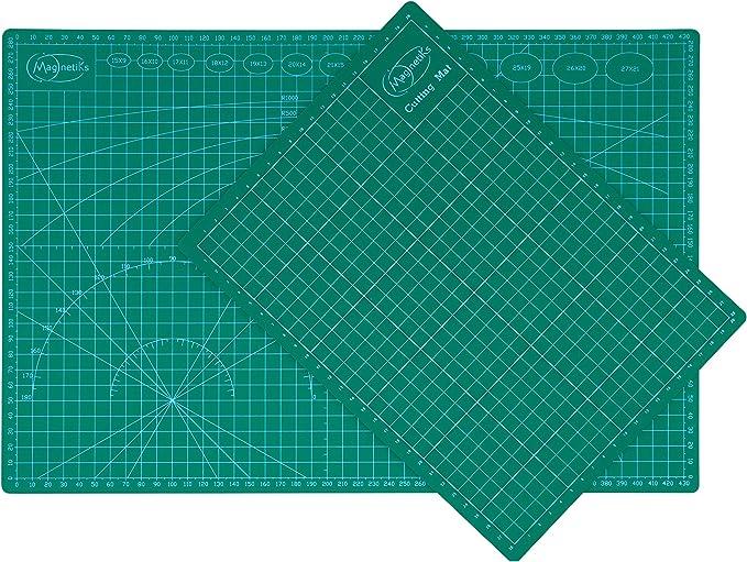 OfficeTree Schneidematte A3 blau 45x30 cm PVC 5-lagig recycelbar