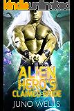 Alien Hero's Claimed Bride: A SciFi Alien Romance (Draconian Warriors Book 4)