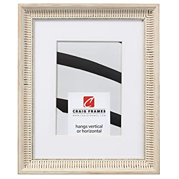 24 by 26-Inch Black Satin Picture Frame Craig Frames Contemporary Wide