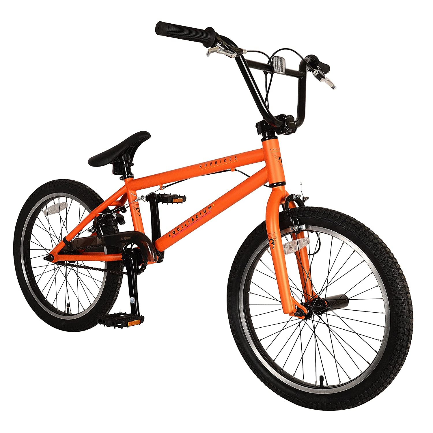 Khe Bikes Equilibrium 3 Bmx Bicycle Matte Orange