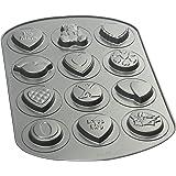 Wilton Valentine 12 Cavity Nonstick Cookie Pan