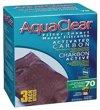 amazon com aquaclear activated carbon insert 70 gallon aquariums