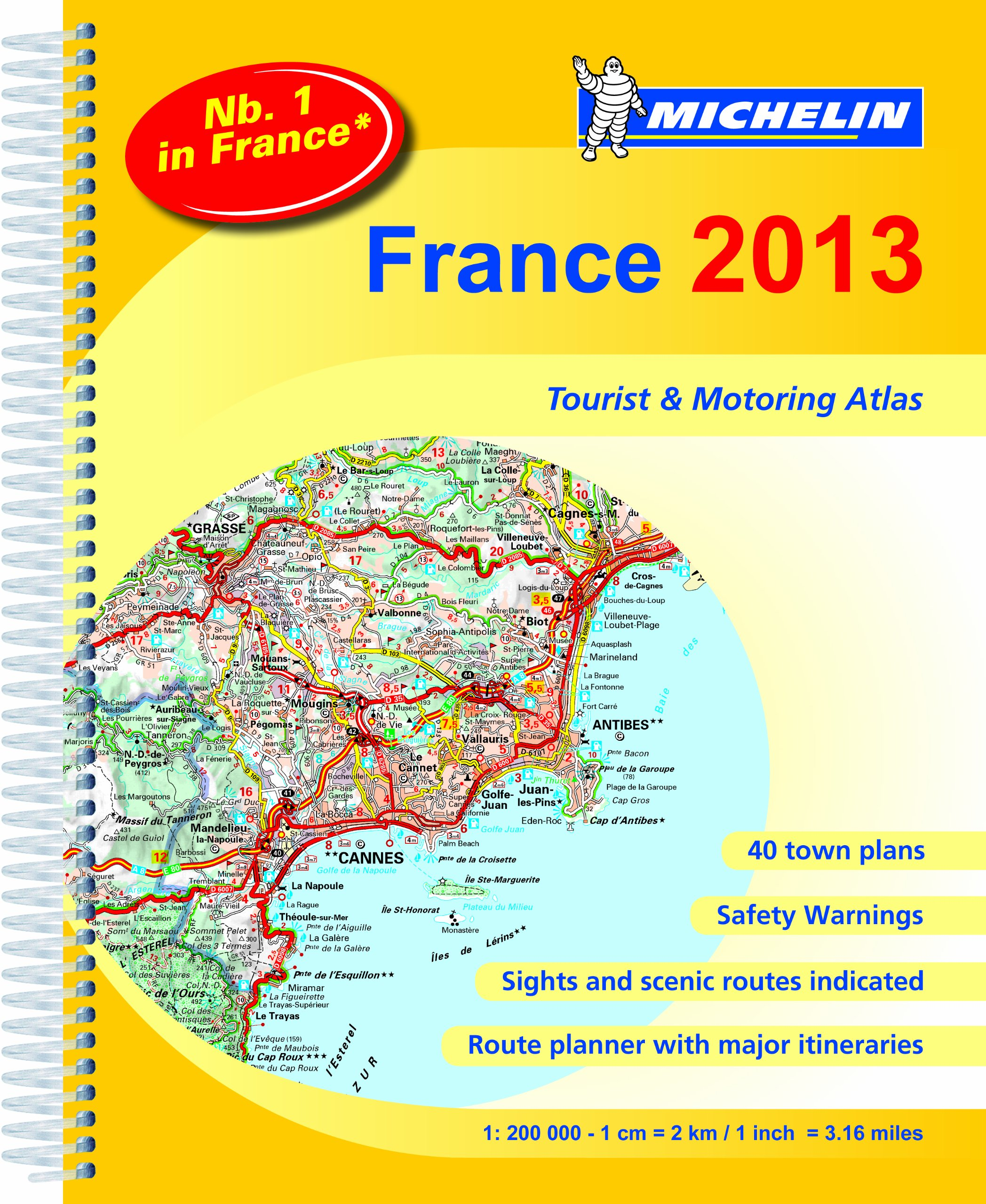 France Atlas 2013: Tourist and Motorist Atlas (Michelin Tourist and Motoring Atlases)