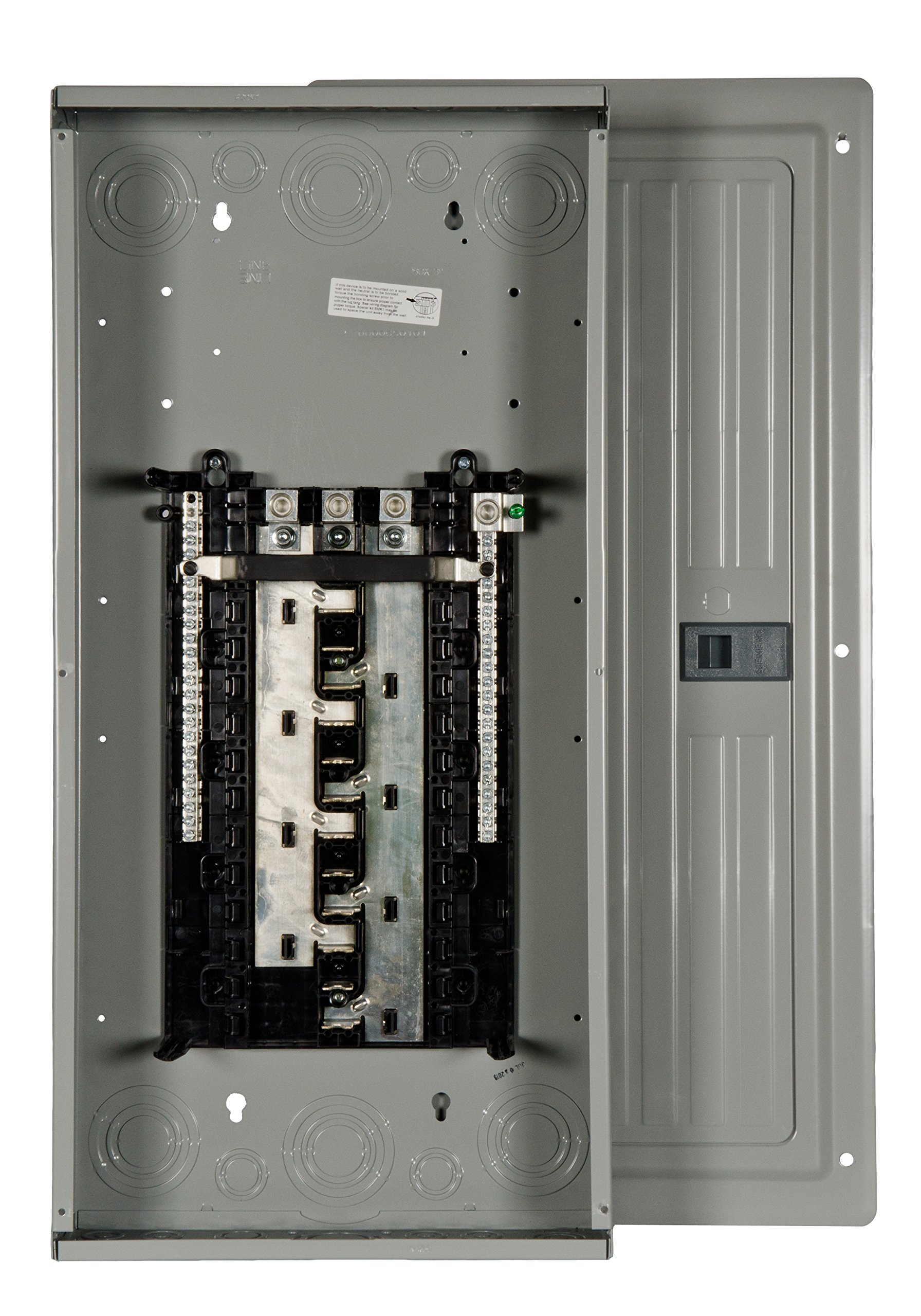 Siemens S2442L3200 200-Amp Indoor Main Lug 24 space, 42 Circuit 3-Phase Load Center