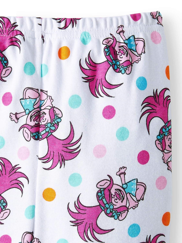 AME Trolls Little Girls Toddler Cotton Pajama Set