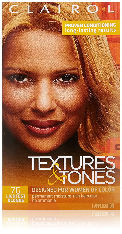 Clairol Text & Tone #7G Lightest Blonde Kit (並行輸入品) B0009R35II 最軽量ブロンド
