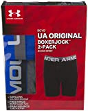 Under Armour Boys' Big 2 Pack Performance Boxer