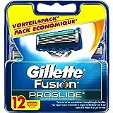Gillette Fusion ProGlide Rasierklingen, 12 Stück, Vorteilspack