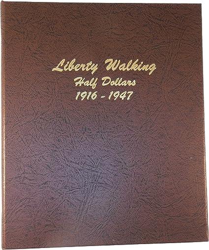 Album Whitman Liberty Walking Half Dollars Volumes 1 /& 2 1916-1947 Coin Folders