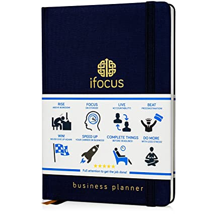 Best Notebooks 2020 Amazon.: Ifocus Productivity Planner undated for Entrepreneurs